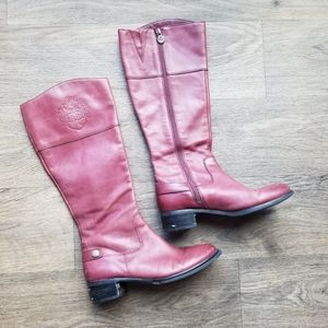 Etienne Aigner | Chip Leather Riding Boot